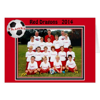 Team Photo Soccer Cards Special Order for Monica