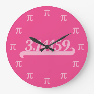Team Pi Pink Clock
