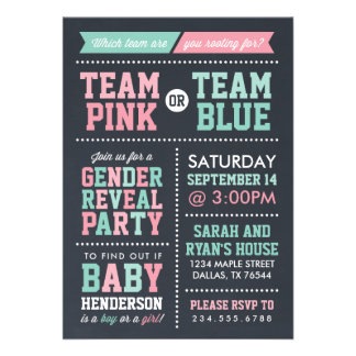 Browse the Gender Reveal Invitations Collection and personalise by colour, design or style.