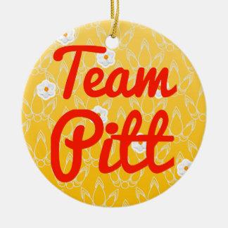 Team Pitt Christmas Ornament