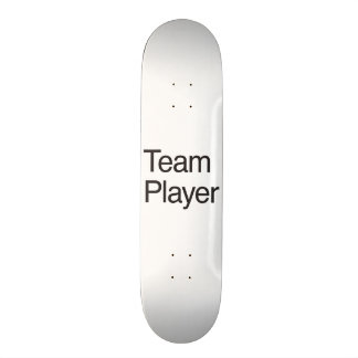 Team Player Skateboard Deck