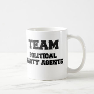 Team Political Party Agents Coffee Mug