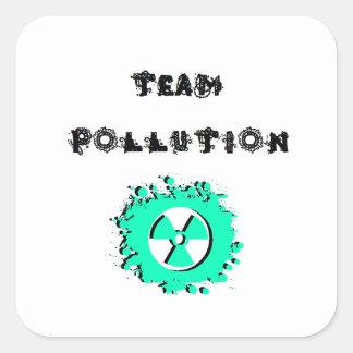 Team Pollution Stickers Set