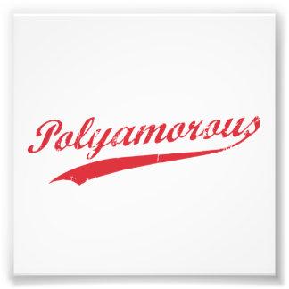 Team Polyamory Polyamorous and Proud Photo Art