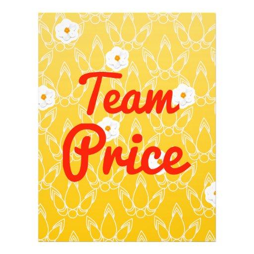 Team Price Custom Flyer
