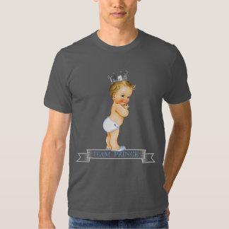 Team Prince Gender Reveal Baby Shower T-shirt
