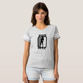 Team Pro Sexy (Get Lucky) Ladies Tee