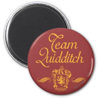 Team Quidditch 6 Cm Round Magnet