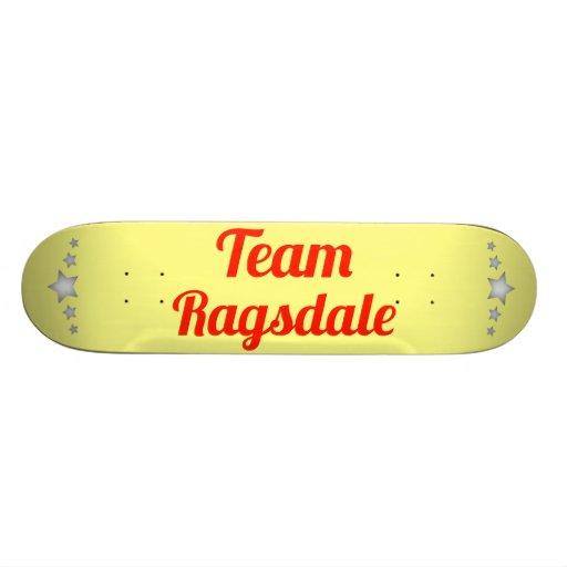 Team Ragsdale Custom Skate Board