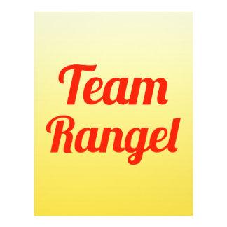 Team Rangel Flyer Design