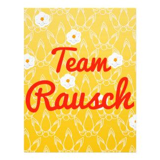 Team Rausch Custom Flyer