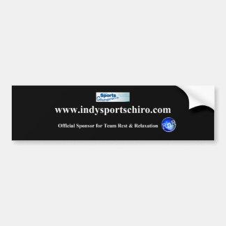 Team RnR - Indy Sports Chiro Sticker Bumper Sticker