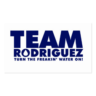 TEAM RODRIGUEZ BUSINESS CARD TEMPLATE