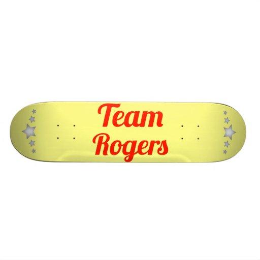 Team Rogers Skateboard Deck