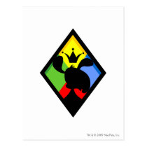 Team Roo Island Logo postcards
