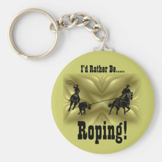 Team Ropers 203 Key Ring