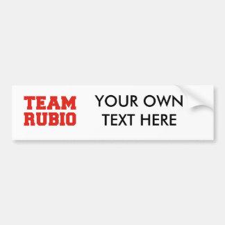 TEAM RUBIO.png Bumper Sticker