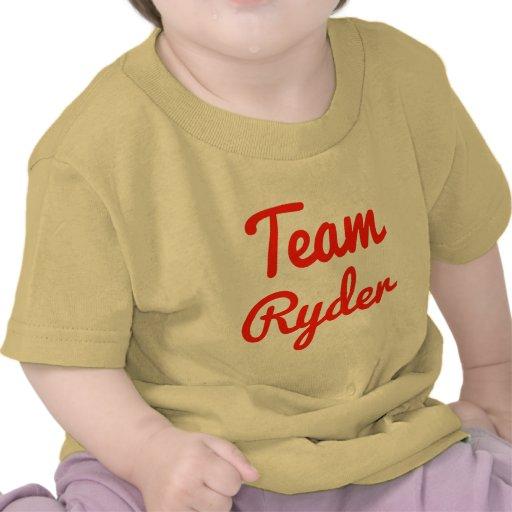 Team Ryder Tee Shirts