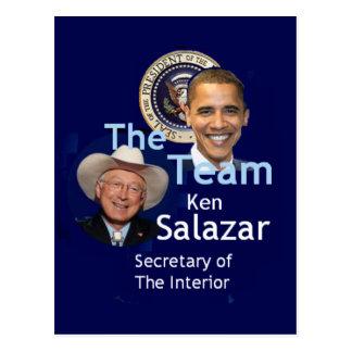 Team Salazar Postcard