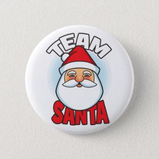 Team Santa 6 Cm Round Badge