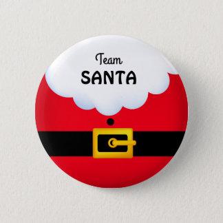 Team Santa Standard, 2¼ Inch Round Button