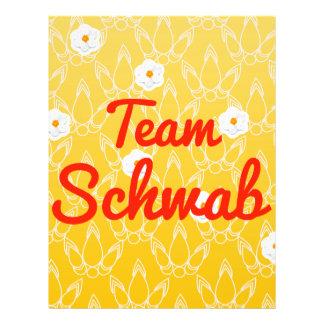 Team Schwab Full Color Flyer
