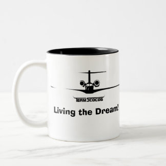 Team Scocos Living the Dream Mug
