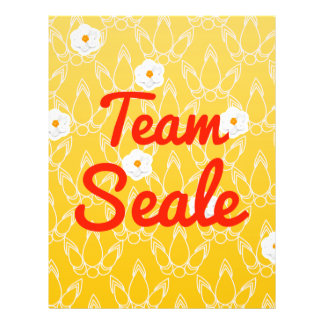 Team Seale Custom Flyer