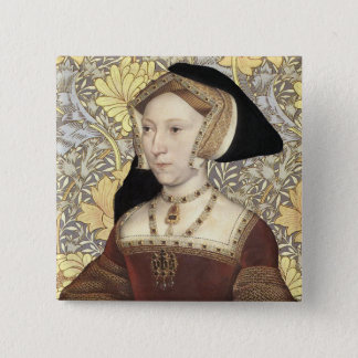 Team Seymour - Portrait of Queen Jane Seymour 15 Cm Square Badge