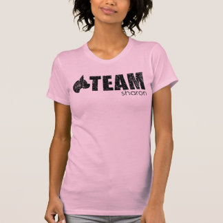 Team Sharon pink tank