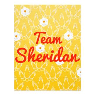 Team Sheridan Full Color Flyer