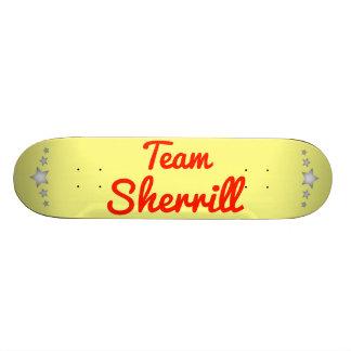 Team Sherrill Skate Deck