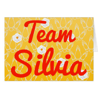 Team Silvia Greeting Cards