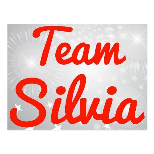 Team Silvia Postcard