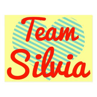 Team Silvia Postcards
