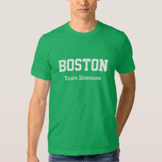 Team Simmons Boston T-Shirt