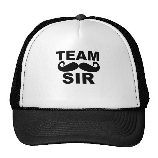 Team Sir - Team Groom T-Shirts.png Hats