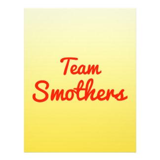 Team Smothers Flyer Design
