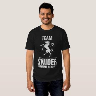 Team Snider lifetime member Shirts