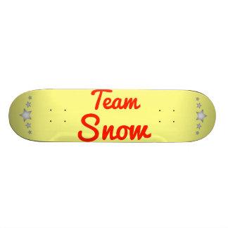Team Snow Skate Deck
