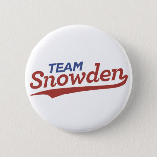 Team Snowden Script 6 Cm Round Badge