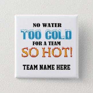 Team So Hot 15 Cm Square Badge