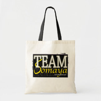 TEAM SOMAYA - Black Tote Bag