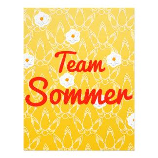Team Sommer Custom Flyer