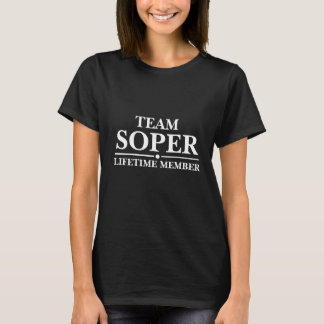 Team Soper Lifetime Member T-Shirt