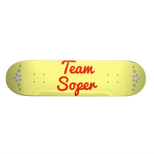 Team Soper Skate Board Deck