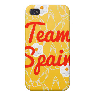 Team Spain Cases For iPhone 4