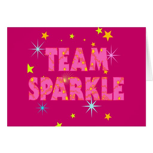 Team Sparkle Card