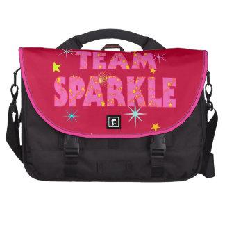 Team Sparkle Laptop Bags