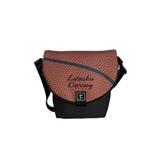 Team Spirit_Basketball texture_Autograph Style 2 Commuter Bag
